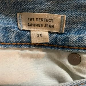 Madewell Jeans - MADEWELL The Perfect Summer Jean